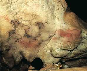 cavalos gruta de ekain